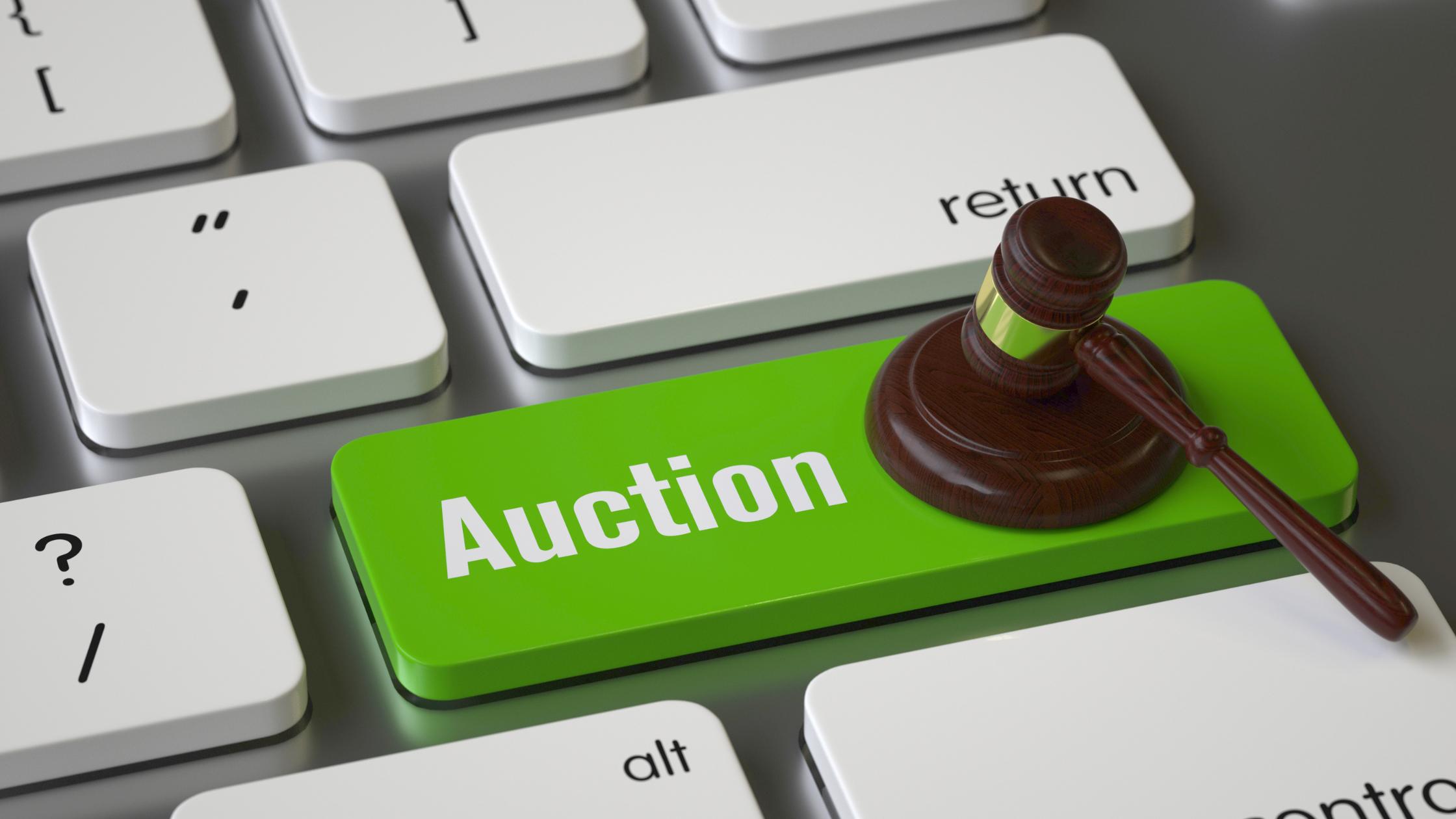 Auktion bei ebay
